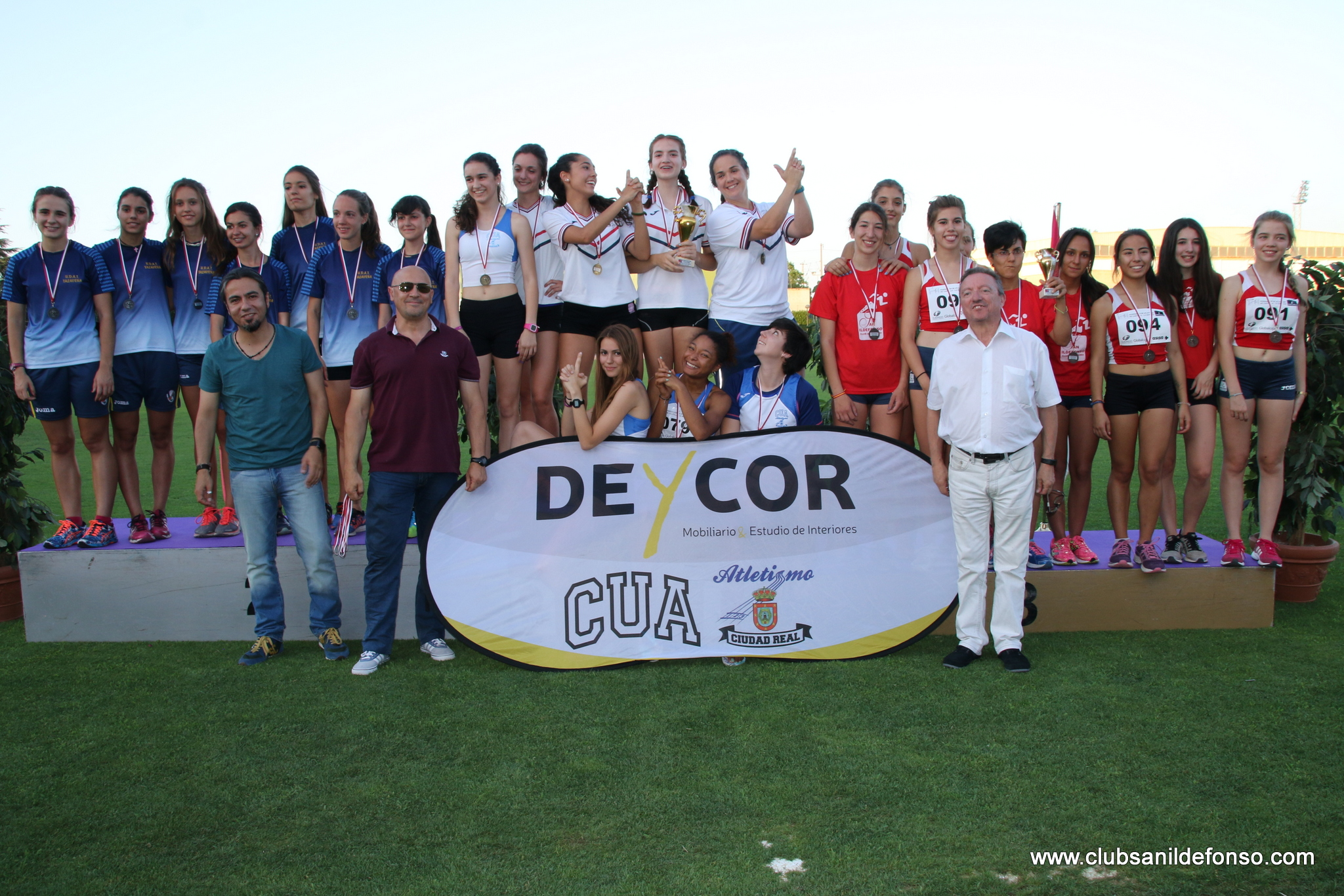 www.clubsanildefonso.com  9-VII-16 CPTO. REG. CLUBES C. REAL (1004)